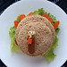 How to make a turkey turkey sandwich for bento