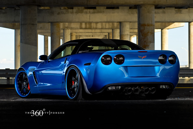 Corvette Z06 on 360 Forged