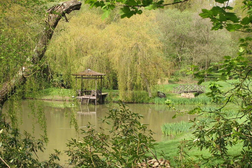 Lord Snowdon's Japanese garden Balcombe, West Sussex, England