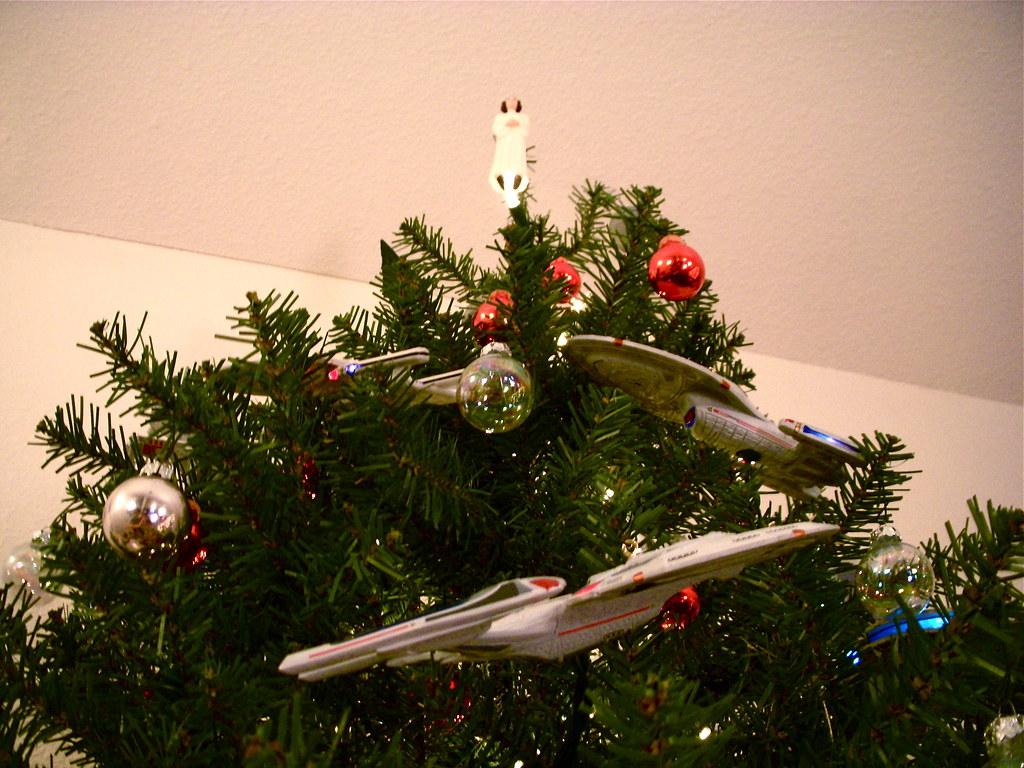 Starship Christmas Tree 3