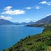 Lake Wakitipu looking towards Glenorchy
