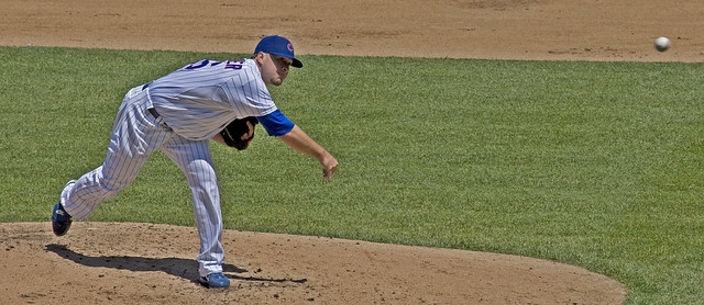 Cubs Pitcher from Flickr via Wylio