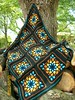 Stained Glass Window Afghan