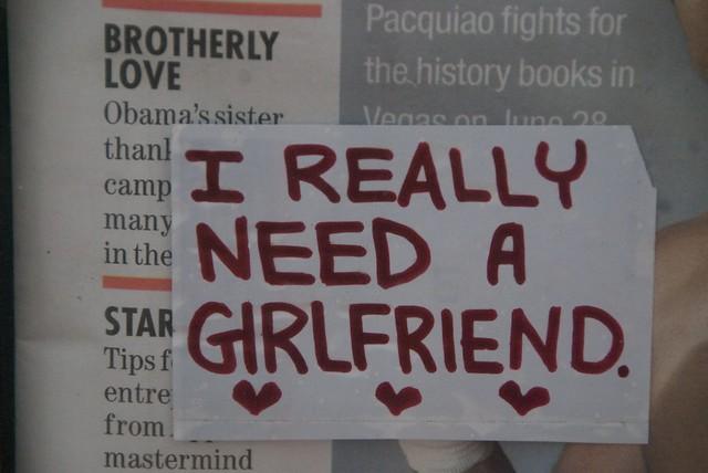 i need a girl friend