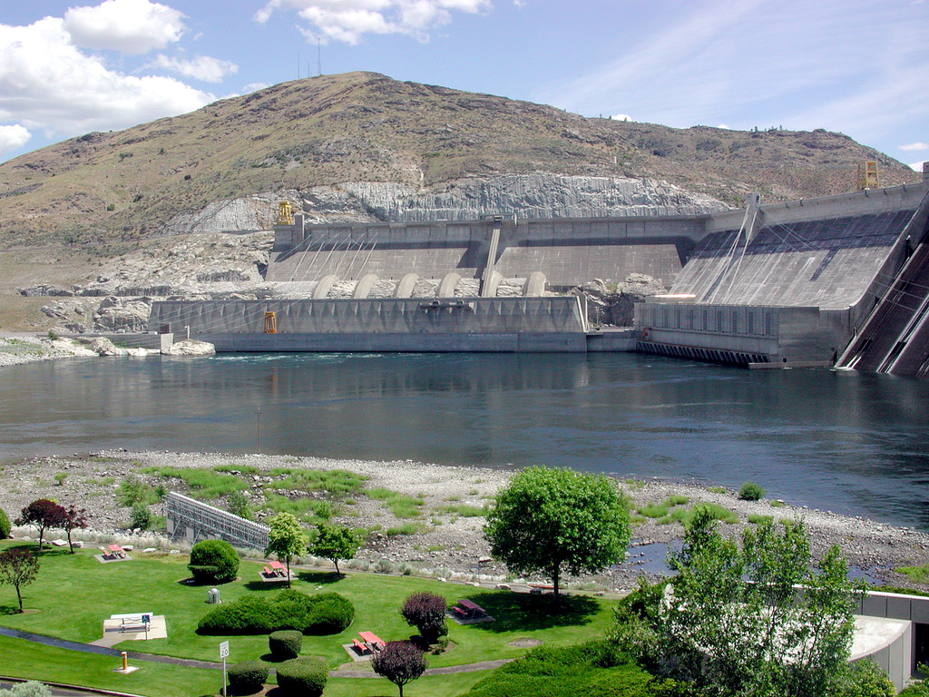 North Half of Coulee Dam.