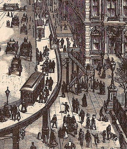 Transfer Car to the Main Platform