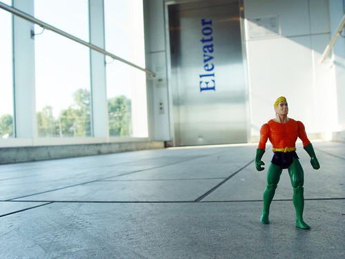Superhero in Transit