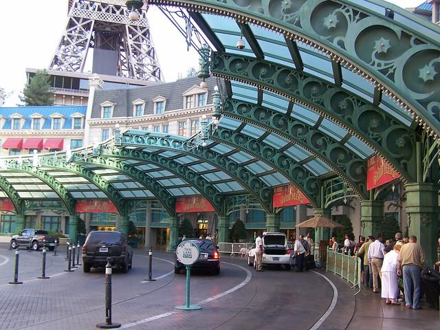 Valet Parking Entrance Paris Las Vegas Flickr Photo