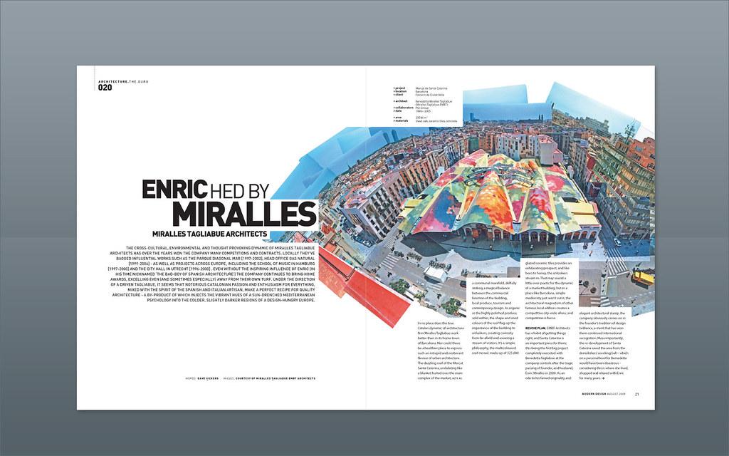 Modern Design Magazine ::: Miralles Tagliabue