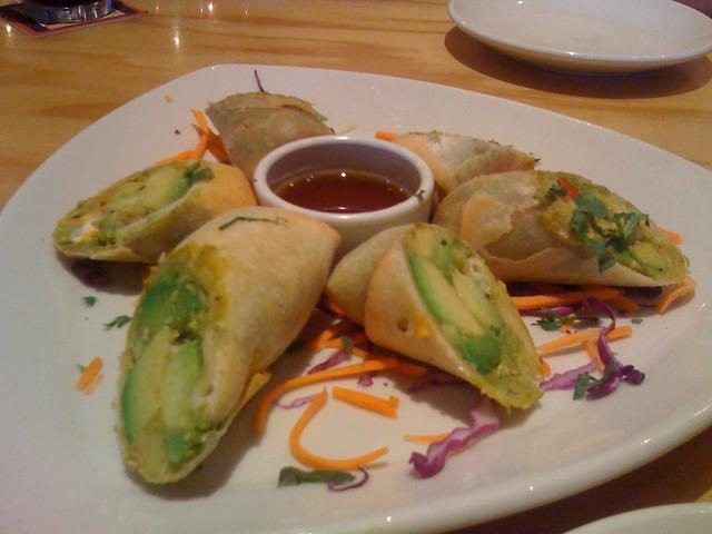avocado egg rolls   Flickr - Photo Sharing!