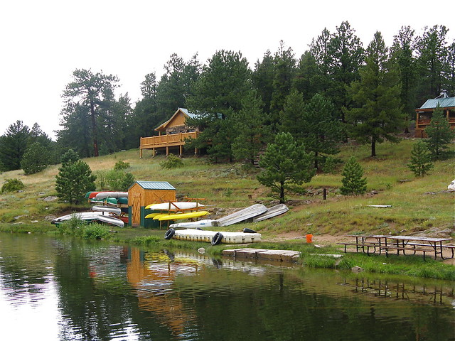 Camp tahosa canoes and cabins flickr photo sharing for Camps and cottages