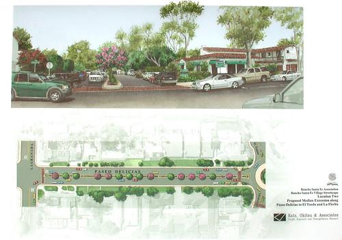 Rancho Santa Fe Streetscape
