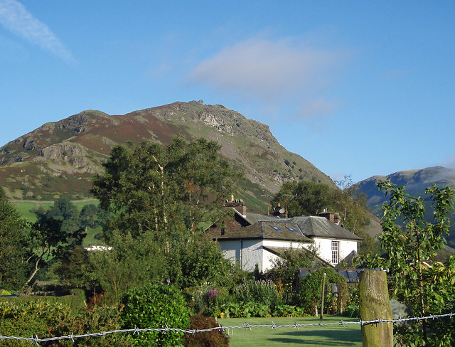 """Helm Crag one of the best relaxed walks around the Lake District Grasmere, picture by Delmonti"""