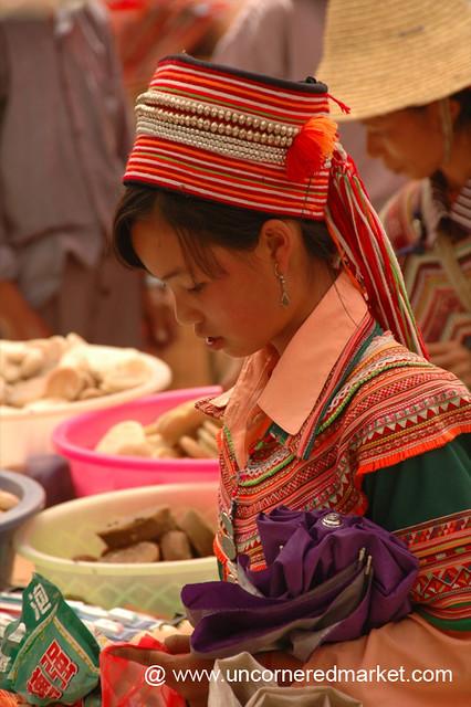 Traditional Hani Dress - Yuanyang, China