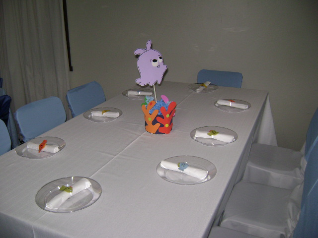 Enfeite de mesa - Festa do Nemo