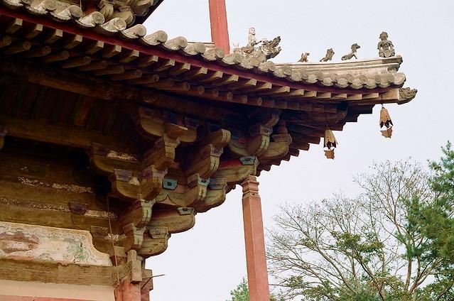 中国木结构建筑的特征——斗拱