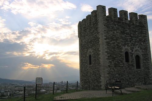 Kale Fortress, Skopje, The Republic Of Macedonia.