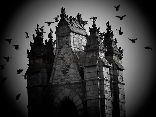 castle dracula by digitalambitions/ Valerie Hogg
