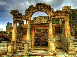 Temple of Hadrian in Ephesus