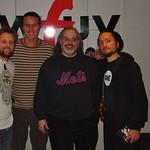 The John Butler Trio at WFUV with Darren DeVivo
