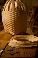 Canoe Museum Basket Weaving