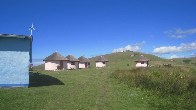 Bulungula, an eco-lodge on the coast of South Africa