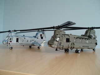 Chinook and Sea Knight