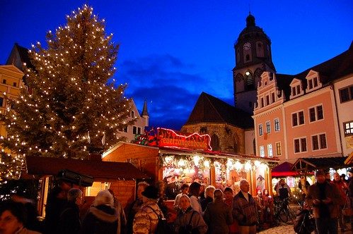 Christmas Market in Meissen, Germany