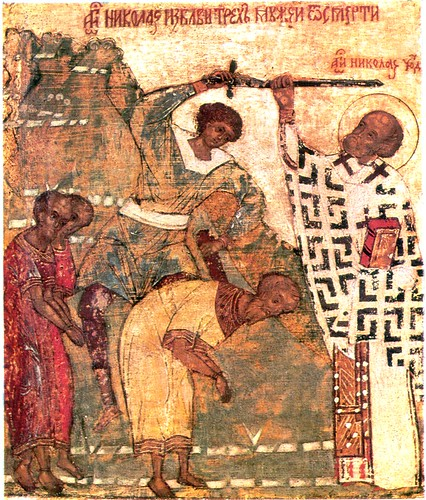 St Nicholas stopping an execution