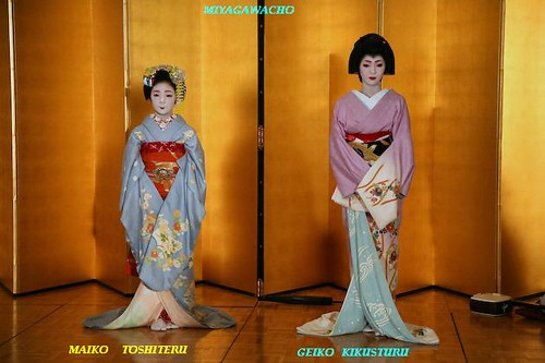DIFFERENCES:: Kyoto geisha