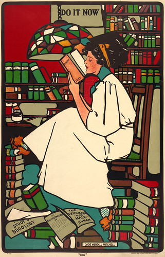"""Sadie Wendell Mitchell: """"Dig"""", 1909"""