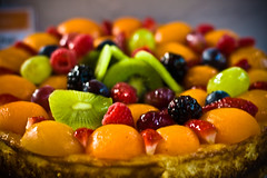 plant(0.0), produce(0.0), baking(1.0), sweetness(1.0), baked goods(1.0), fruit cake(1.0), fruit(1.0), food(1.0), dish(1.0), dessert(1.0), cuisine(1.0),