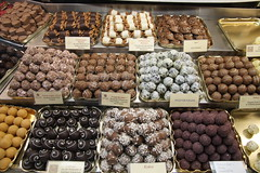 Chocoholic's dream - chocolates in the museum