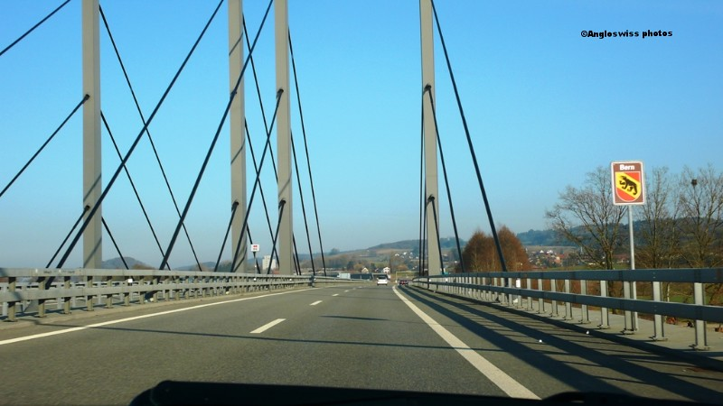 Motorway Biel-Solothurn at Grenchen