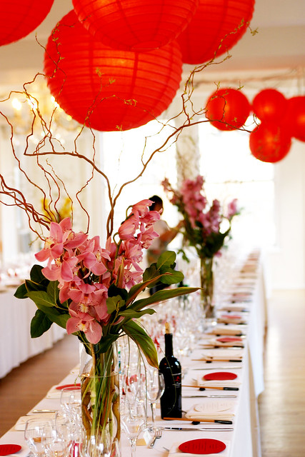 Wedding Banquet Table Setup & asian table setting - a gallery on Flickr
