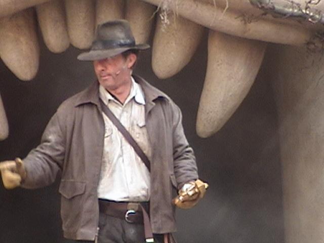 Indiana Jones™ and the Secret of the Stone Tiger Revealed!, Aladdin's Oasis, Adventureland, Disneyland®, Anaheim, California, 2008.05.26 15:27