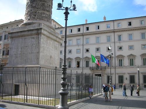 Palazzo Chigi - photo credit: agenziami