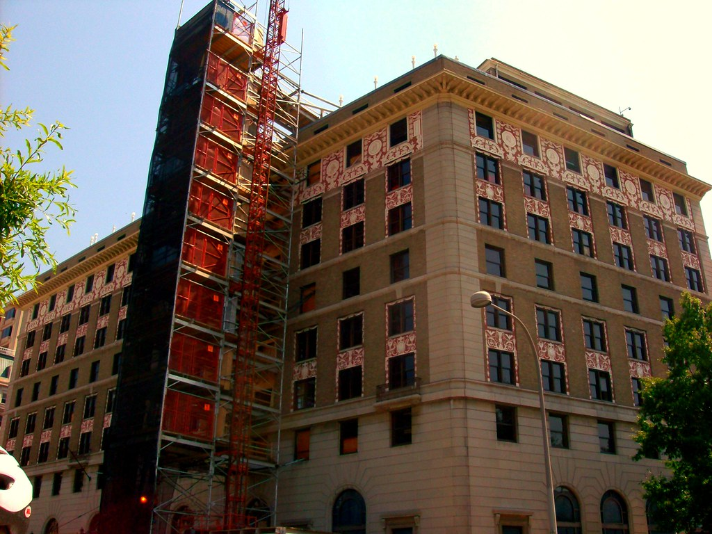 Hotel Washington- under renovation