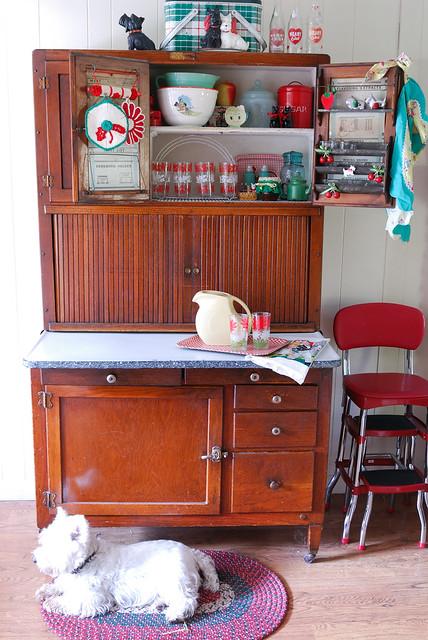 Hoosier Kitchen Cabinet Accessories