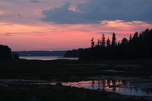 Maine-sunset (Credit: indywriter on Flickr.com)