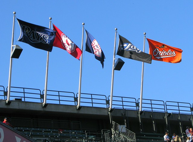 AL East flags
