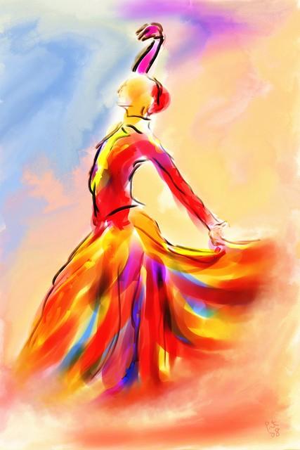 The Spanish Dancer