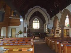 Interior of St Margaret's, Whitnash