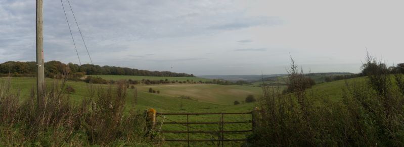 view past the gate 2 Goring circular