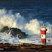 Surf's Up at Green Point by Litehouseman