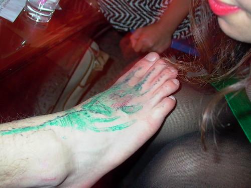 celebrity feet