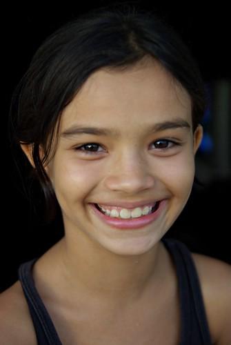 無料写真素材, 人物, 子供  女の子, 笑顔・スマイル, ブラジル人