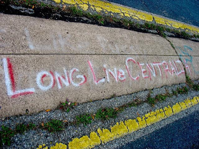 Graffiti Highway - long live Centralia!