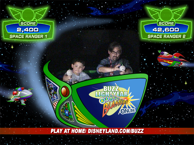 Playing Buzz Lightyear