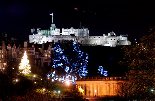 Edinburgh Xmas Skyline